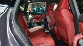 Maserati Levante rear seat at the 2016 Geneva Motor Show Live