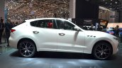 Maserati Levante side at the 2016 Geneva Motor Show Live