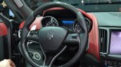 Maserati Levante steering wheel at the 2016 Geneva Motor Show Live