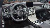 Mercedes-AMG C43 Cabriolet interior at the 2016 Geneva Motor Show