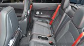 Mercedes-AMG C43 Cabriolet rear seat at the 2016 Geneva Motor Show