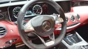 Mercedes-AMG S63 Cabriolet Edition 130 steering wheel
