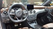 Mercedes CLA Shooting Brake with accessories dashboard