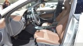 Mercedes CLA Shooting Brake with accessories front seats