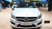 Mercedes CLA Shooting Brake with accessories front