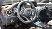Mercedes CLA Shooting Brake with accessories leather seat
