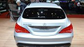 Mercedes CLA Shooting Brake with accessories rear