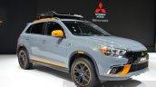 Mitsubishi ASX GEOSEEK Concept front three quarter view at 2016 Geneva Motor Show