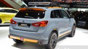 Mitsubishi ASX GEOSEEK Concept rear three quarters at 2016 Geneva Motor Show
