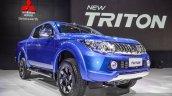 Mitsubishi Triton Limited Edition front quarters at 2016 BIMS