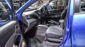 Mitsubishi Triton Limited Edition front seat at 2016 BIMS