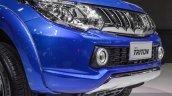 Mitsubishi Triton Limited Edition grille at 2016 BIMS