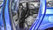 Mitsubishi Triton Limited Edition rear seat at 2016 BIMS