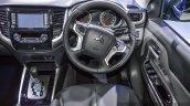 Mitsubishi Triton Limited Edition steering at 2016 BIMS