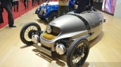 Morgan EV3 front three quarter at 2016 Geneva Motor Show