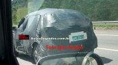 Nissan Kicks rear quarter spied in Brazil