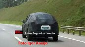 Nissan Kicks rear spied in Brazil
