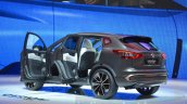 Nissan Qashqai Premium Concept rear three quarter view at the Geneva Motor Show 2016