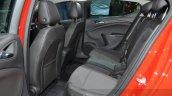 Opel Astra rear seat legroom at the 2016 Geneva Motor Show