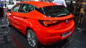Opel Astra rear three quarter at the 2016 Geneva Motor Show