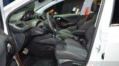 Peugeot 208 Roland Garros front seats