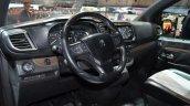 Peugeot Traveller iLab dashboard at 2016 Geneva Motor Show