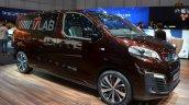 Peugeot Traveller iLab front quarter at 2016 Geneva Motor Show