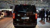 Peugeot Traveller iLab rear at 2016 Geneva Motor Show