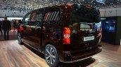 Peugeot Traveller iLab rear quarter at 2016 Geneva Motor Show