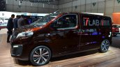 Peugeot Traveller iLab side at 2016 Geneva Motor Show