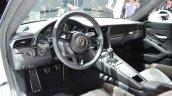 Porsche 911 R dashboard at the 2016 Geneva Motor Show