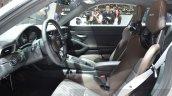 Porsche 911 R interior at the 2016 Geneva Motor Show