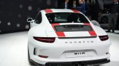Porsche 911 R rear left three quarter at the 2016 Geneva Motor Show
