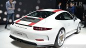Porsche 911 R rear right three quarter at the 2016 Geneva Motor Show
