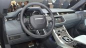 Range Rover Evoque Convertible dashboard at the 2016 Geneva Motor Show