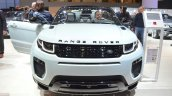 Range Rover Evoque Convertible front at the 2016 Geneva Motor Show