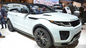 Range Rover Evoque Convertible front three quarter at the 2016 Geneva Motor Show