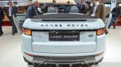 Range Rover Evoque Convertible rear at the 2016 Geneva Motor Show