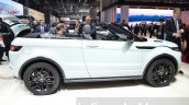 Range Rover Evoque Convertible side at the 2016 Geneva Motor Show