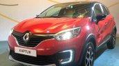 Renault Kaptur red and black