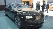 Rolls Royce Wraith Black Badge Edition front quarter at 2016 Geneva Motor Show