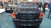 Rolls Royce Wraith Black Badge Edition rear at 2016 Geneva Motor Show
