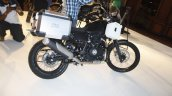 Royal Enfield Himalayan black accessorised launched