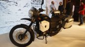 Royal Enfield Himalayan black front quarter launched