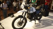 Royal Enfield Himalayan white front quarter launched