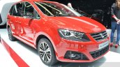 Seat Alhambra 20th Anniversary front quarter at 2016 Geneva Motor Show
