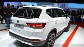Seat Ateca rear quarter at the Geneva Motor Show Live