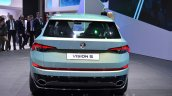 Skoda VisionS SUV concept rear at the 2016 Geneva Motor Show