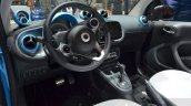 Smart fortwo Cabrio Brabus edition interior at the Geneva Motor Show Live