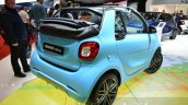 Smart fortwo Cabrio Brabus edition rear three quarter at the Geneva Motor Show Live